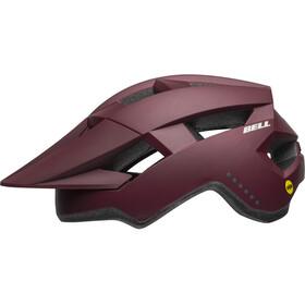 Bell Spark MIPS casco per bici Donna marrone/rosso